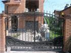 Кованые ворота № 14